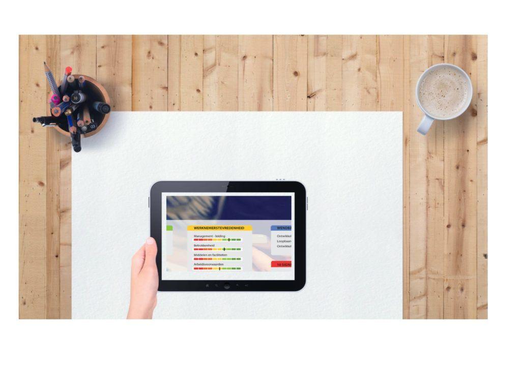 Dashboard duurzame ontwikkeling Ipad